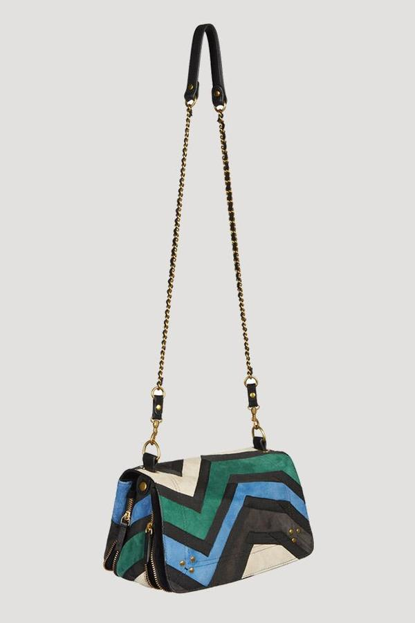 9580661cc Jerome Dreyfuss Bobi Patchwork Crossbody in Blue/Green. sold out. Jerome  Dreyfuss · Bags